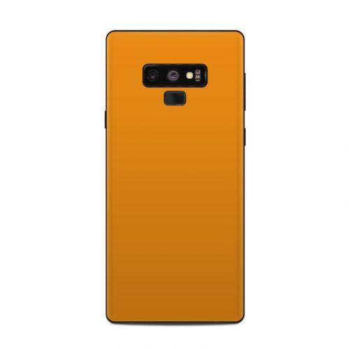 Solid State Orange Samsung Galaxy Note 9 Skin