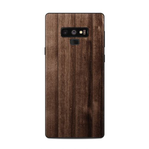 Stained Wood Samsung Galaxy Note 9 Skin