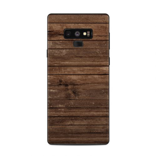 Stripped Wood Samsung Galaxy Note 9 Skin