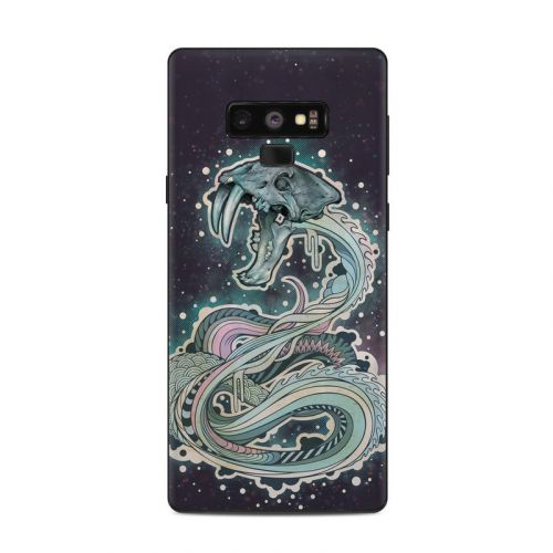 Saber-Toothed Serpent Samsung Galaxy Note 9 Skin