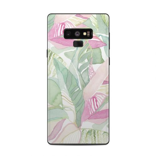 Tropical Leaves Samsung Galaxy Note 9 Skin