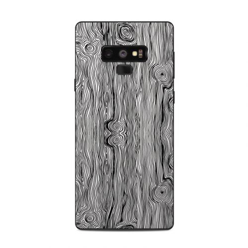 Woodgrain Samsung Galaxy Note 9 Skin