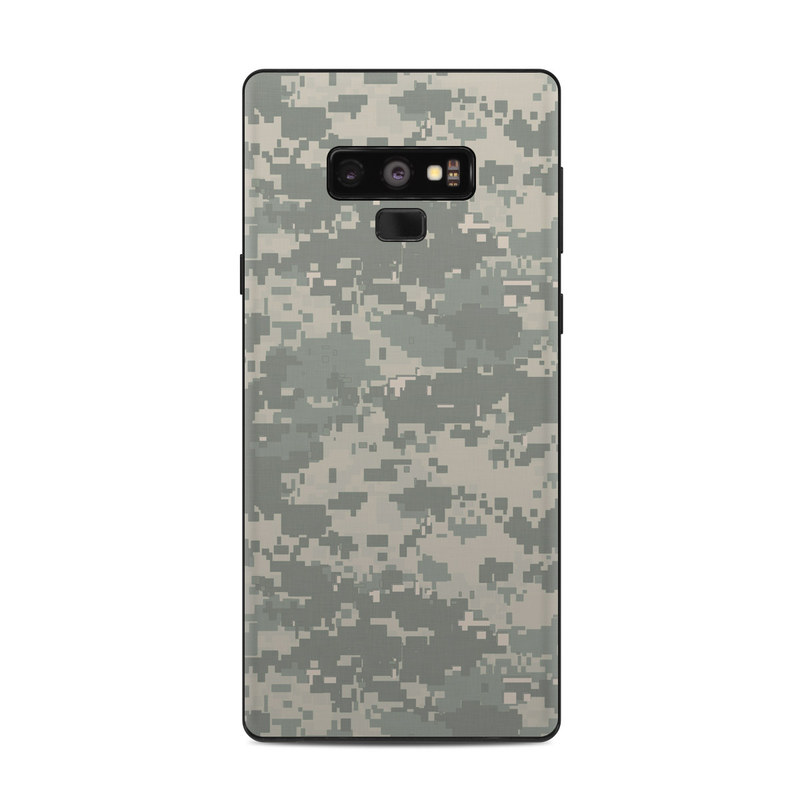 Samsung Galaxy Note 9 Skin design of Military camouflage, Green, Pattern, Uniform, Camouflage, Design, Wallpaper with gray, green colors