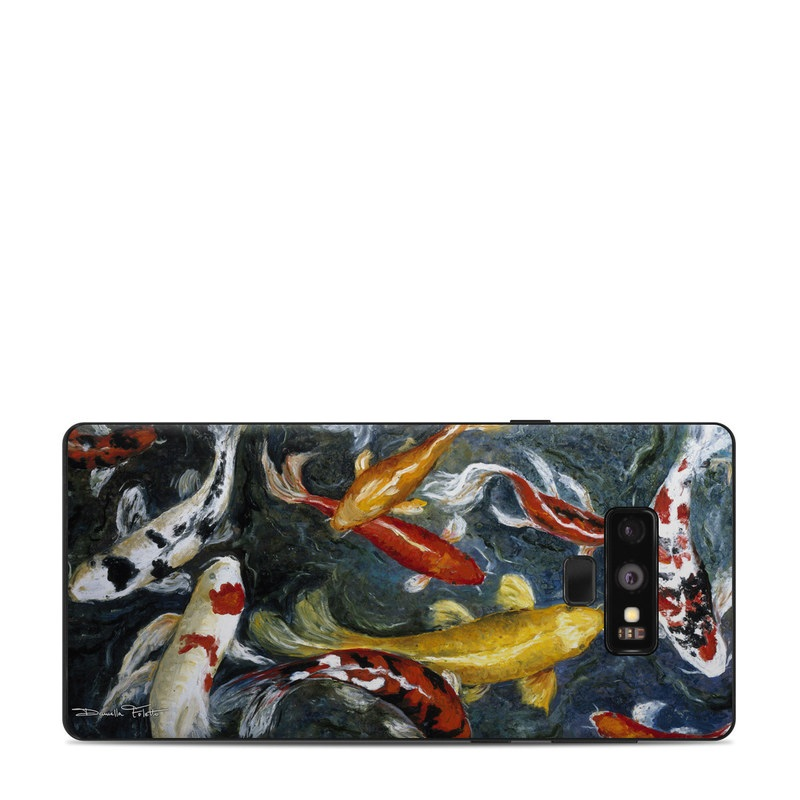 Koi's Happiness Samsung Galaxy Note 9 Skin