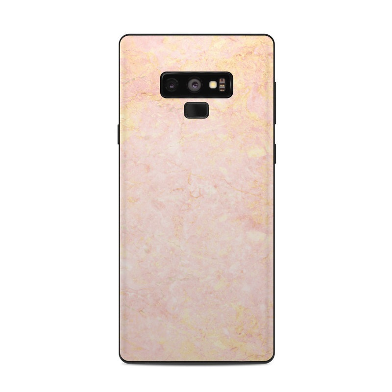Rose Gold Marble Samsung Galaxy Note 9 Skin Istyles