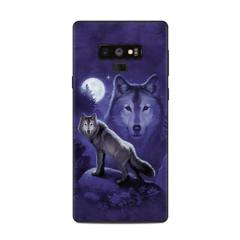 Wolf Samsung Galaxy Note 9 Skin