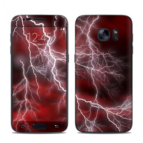 Apocalypse Red Galaxy S7 Skin