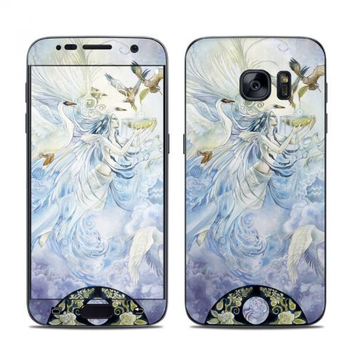 Aquarius Galaxy S7 Skin