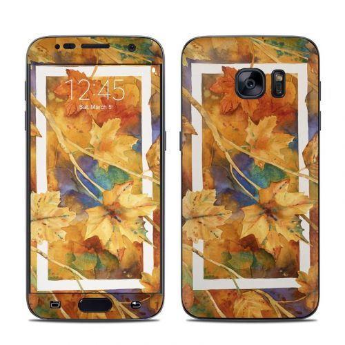 Autumn Days Galaxy S7 Skin