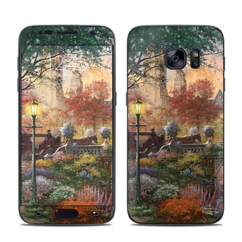 Autumn in New York Galaxy S7 Skin