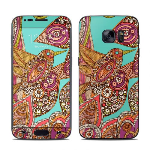 Bird In Paradise Galaxy S7 Skin