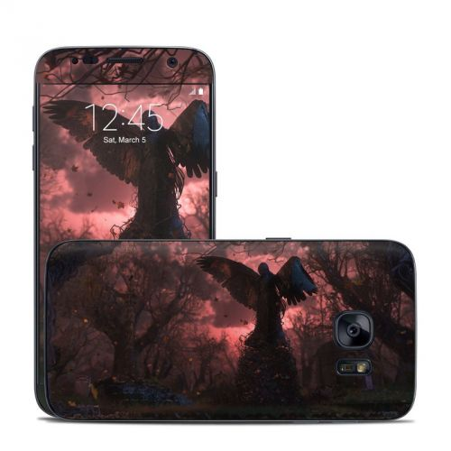 Black Angel Galaxy S7 Skin