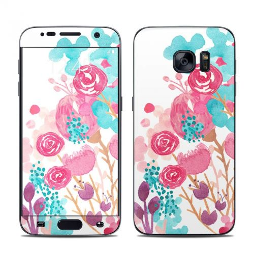 Blush Blossoms Galaxy S7 Skin