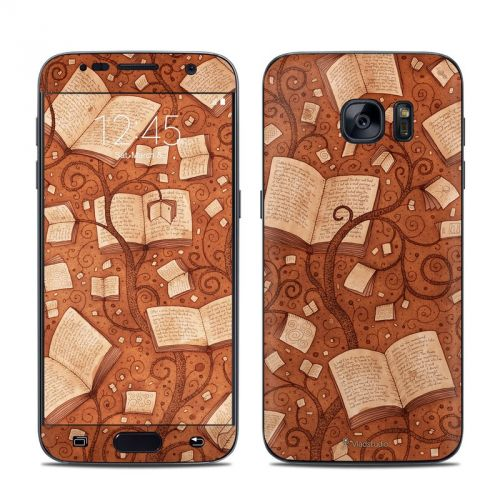 Books Galaxy S7 Skin