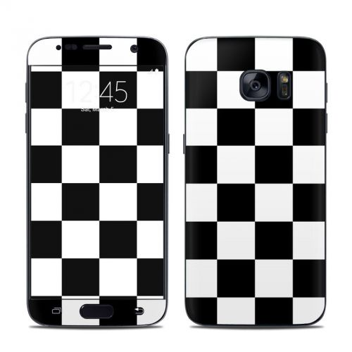 Checkers Galaxy S7 Skin