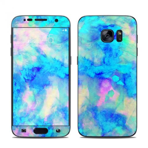 Electrify Ice Blue Galaxy S7 Skin