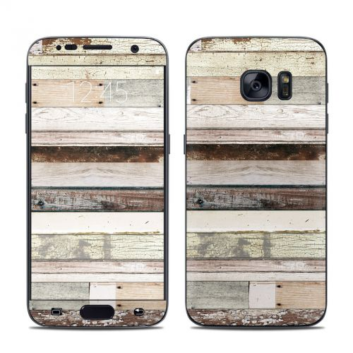 Eclectic Wood Galaxy S7 Skin