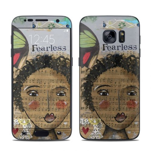 Fearless Heart Galaxy S7 Skin
