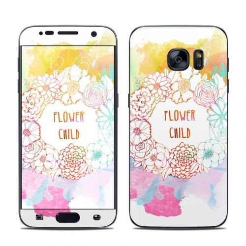 Flower Child Galaxy S7 Skin