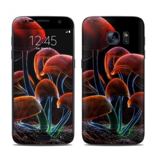 Fluorescence Rainbow Galaxy S7 Skin