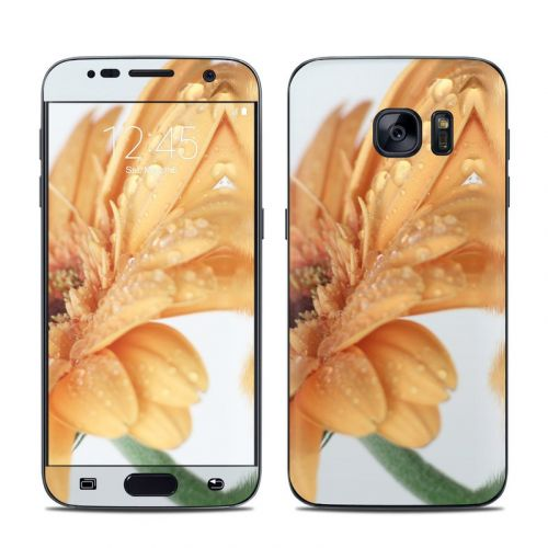 Golden Gerbera Galaxy S7 Skin