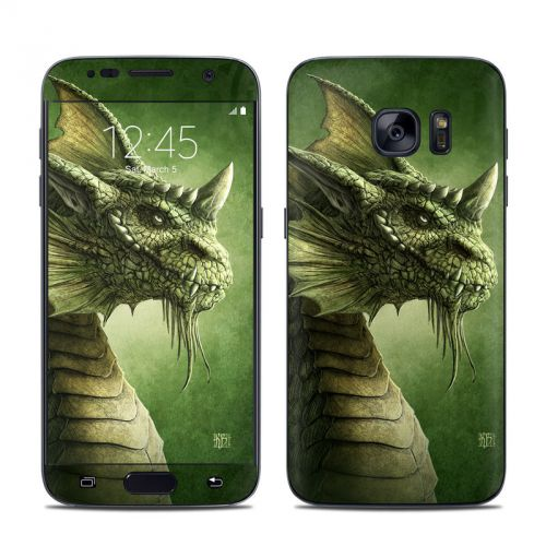 Green Dragon Galaxy S7 Skin