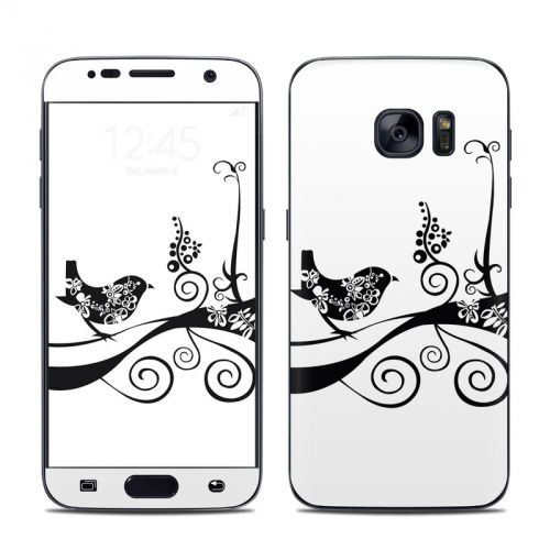 Little Curly Galaxy S7 Skin