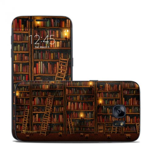 Library Galaxy S7 Skin