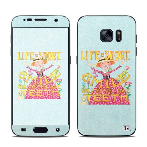 Life is Short Galaxy S7 Skin