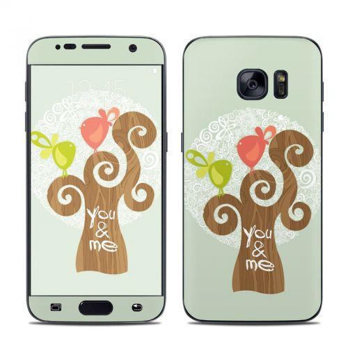 Two Little Birds Galaxy S7 Skin