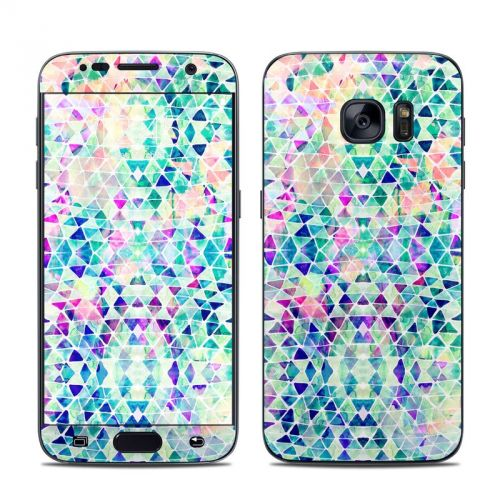 Pastel Triangle Galaxy S7 Skin