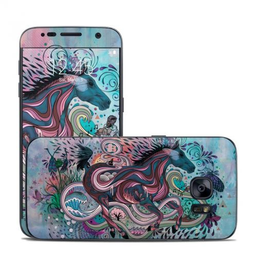Poetry in Motion Galaxy S7 Skin
