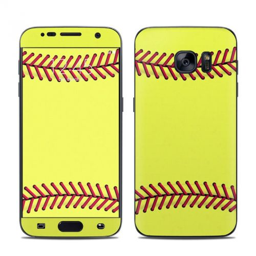 Softball Galaxy S7 Skin