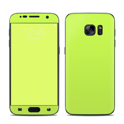 Solid State Lime Samsung Galaxy S7 Skin