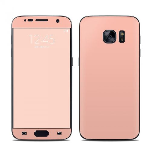 Solid State Peach Galaxy S7 Skin