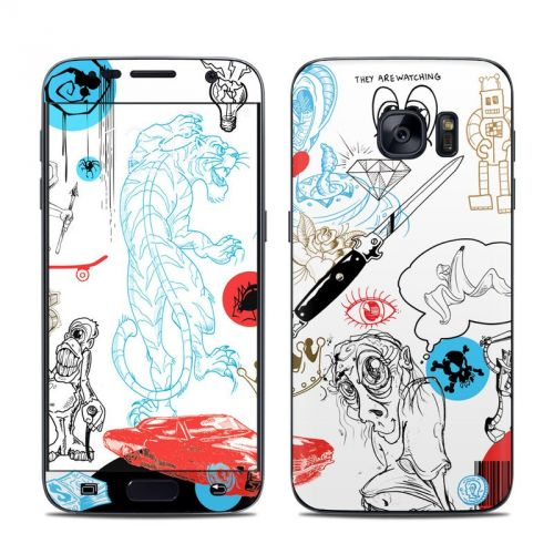 Tattoo Ink Galaxy S7 Skin