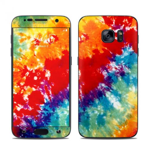 Tie Dyed Galaxy S7 Skin