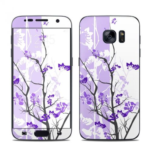 Violet Tranquility Galaxy S7 Skin