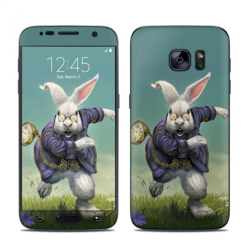 White Rabbit Galaxy S7 Skin