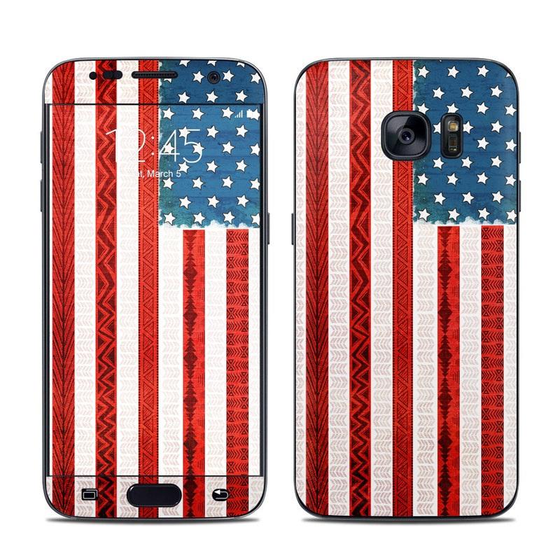 American Tribe Galaxy S7 Skin