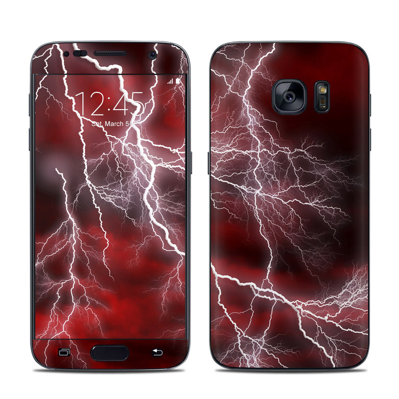 Apocalypse Red Galaxy S7 Skin