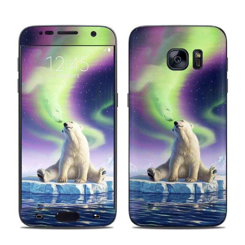 Arctic Kiss Galaxy S7 Skin