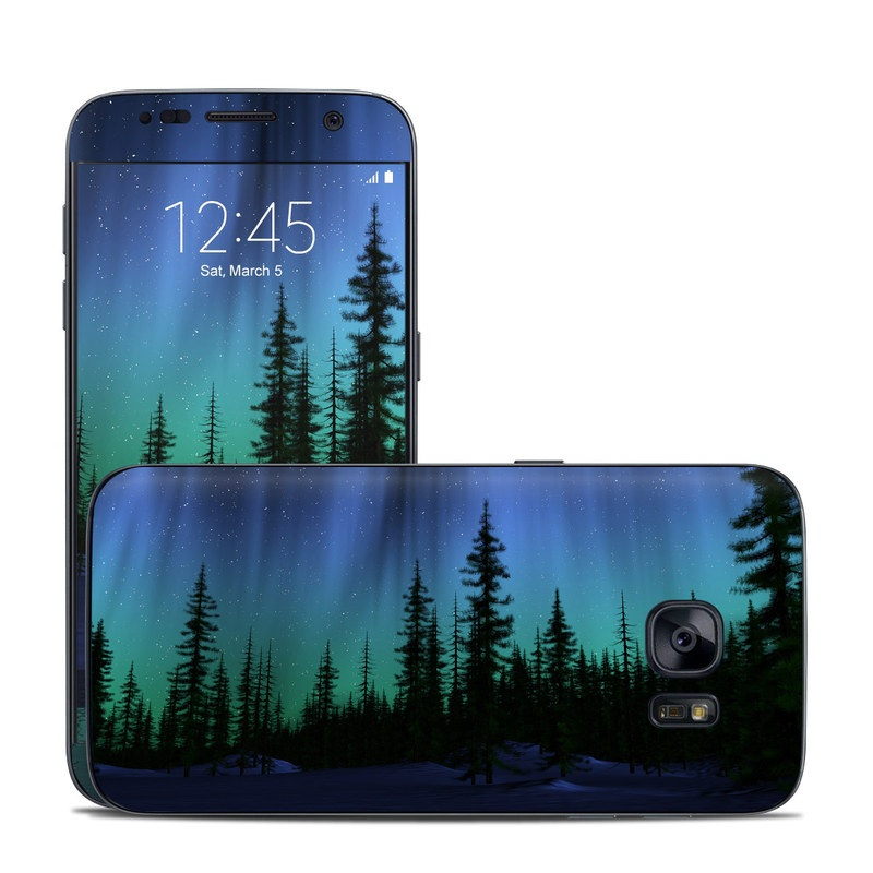 Aurora Galaxy S7 Skin