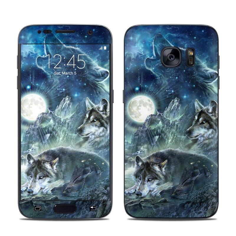 Bark At The Moon Galaxy S7 Skin
