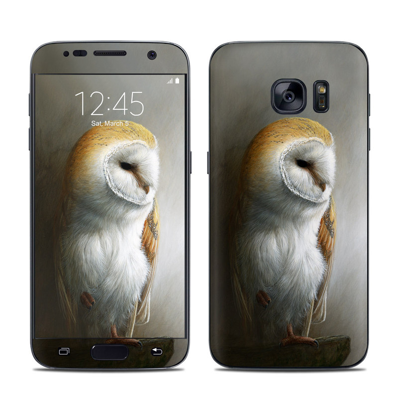 Barn Owl Galaxy S7 Skin