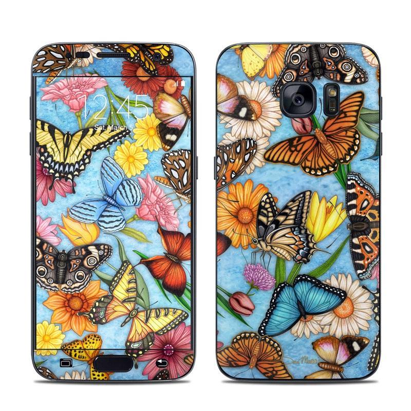 Butterfly Land Galaxy S7 Skin