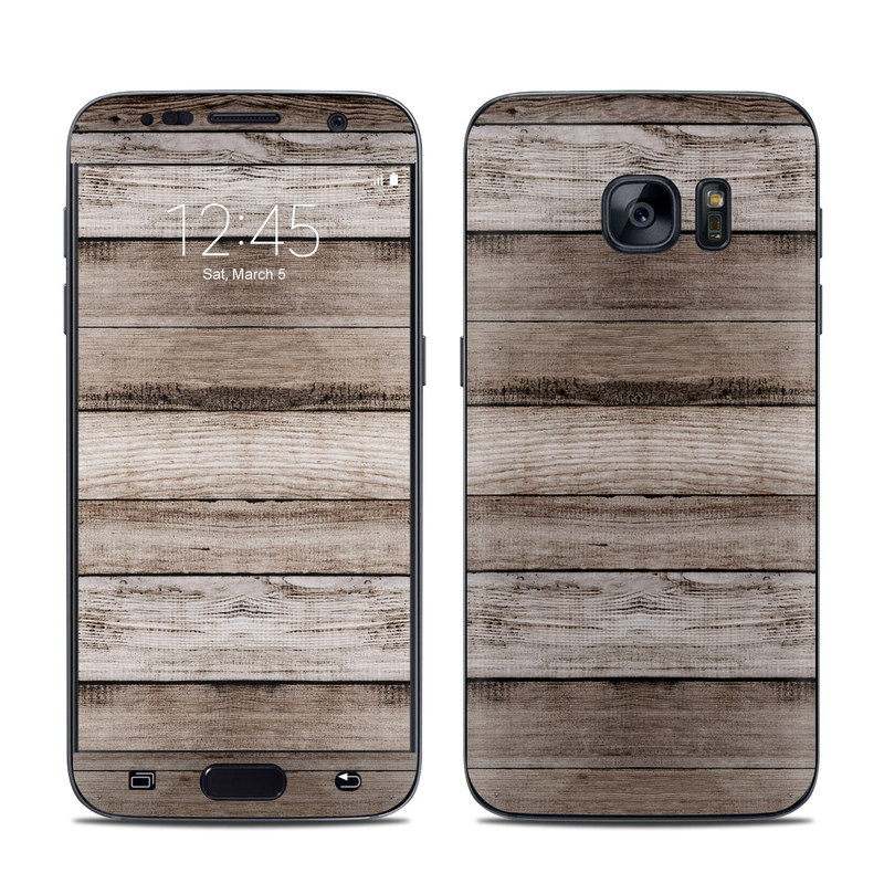 Barn Wood Galaxy S7 Skin