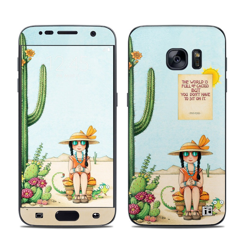 Cactus Galaxy S7 Skin
