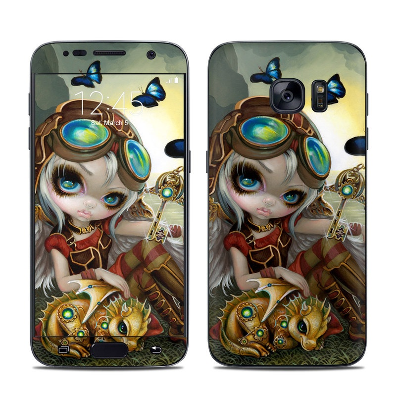 Clockwork Dragonling Galaxy S7 Skin