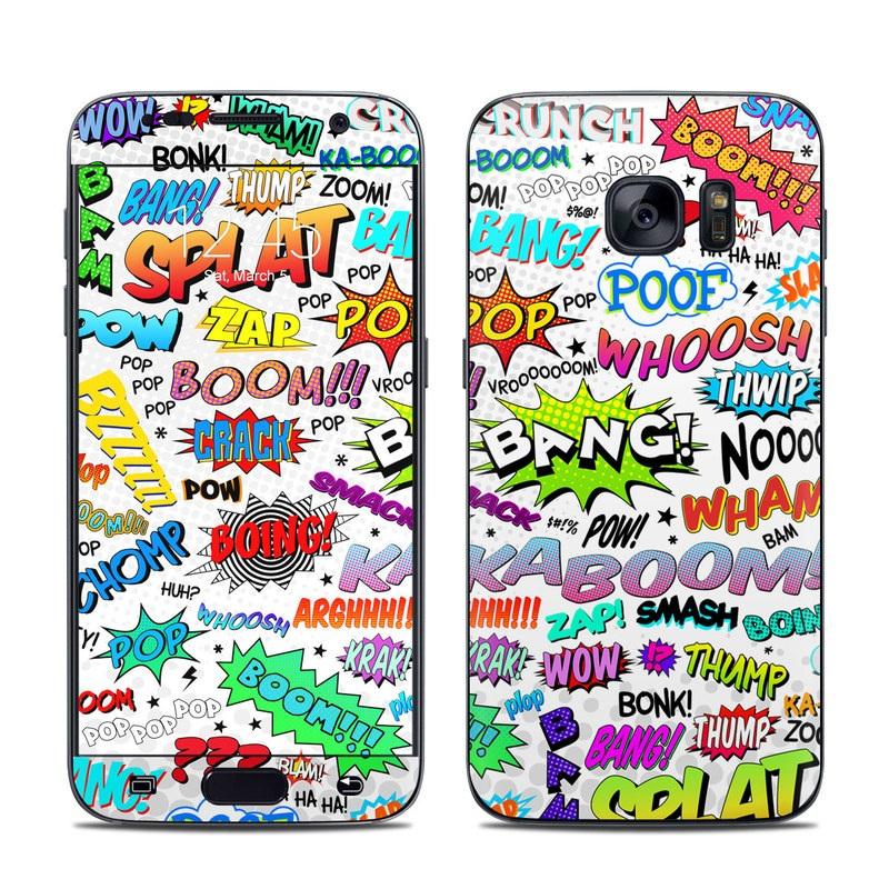 Comics Galaxy S7 Skin